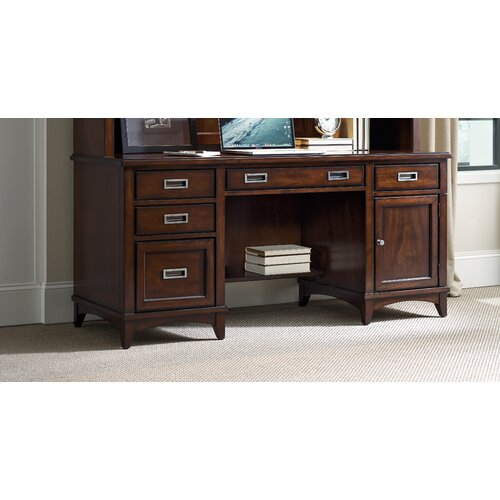 Hooker furniture latitude credenza desk for Furniture 2 day shipping