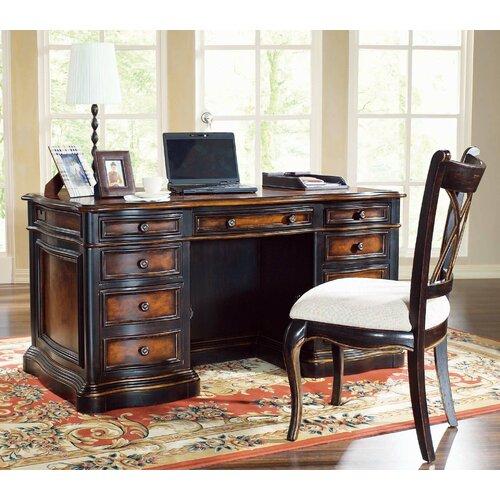 "Hooker Furniture Preston Ridge 60"" Executive Desk"