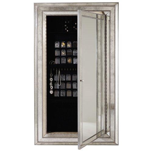 hooker furniture melange glamour floor mirror reviews wayfair. Black Bedroom Furniture Sets. Home Design Ideas
