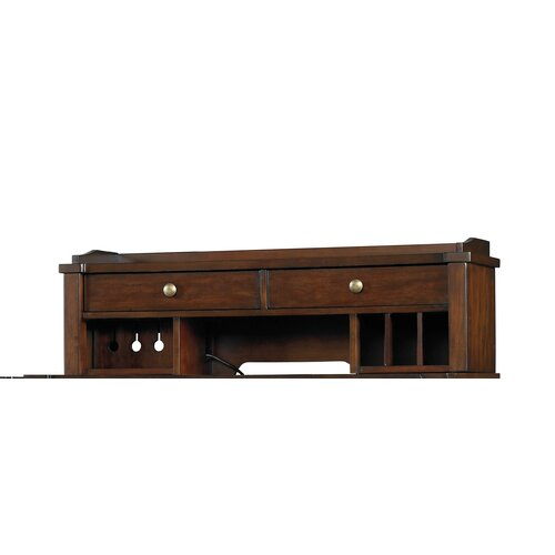Hooker Furniture Abbott Place Smart Hutch in Rich Warm Cherry