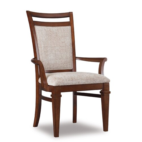 Abbott Place Upholstered Back Arm Chair (Set of 2)