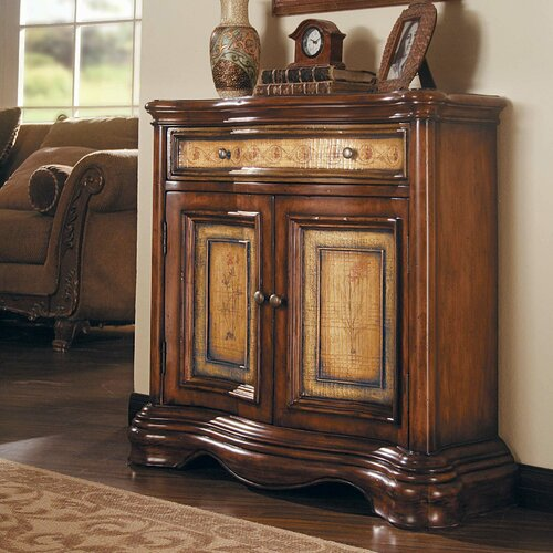 Hooker Furniture Seven Seas 2 Door / 1 Drawer Shaped Hall Chest