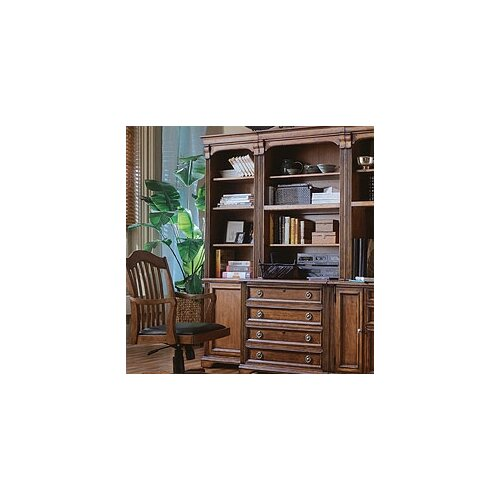 "Hooker Furniture Brookhaven Left 78.25"" Bookcase"