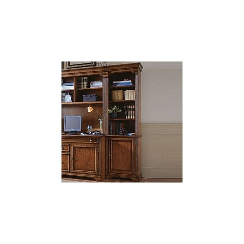 "Hooker Furniture Brookhaven Right 78.25"" Bookcase"