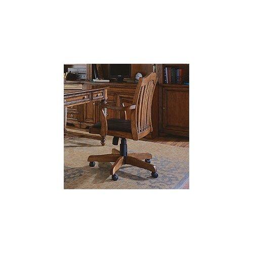 Brookhaven Tilt Swivel Chair in Medium Clear Cherry