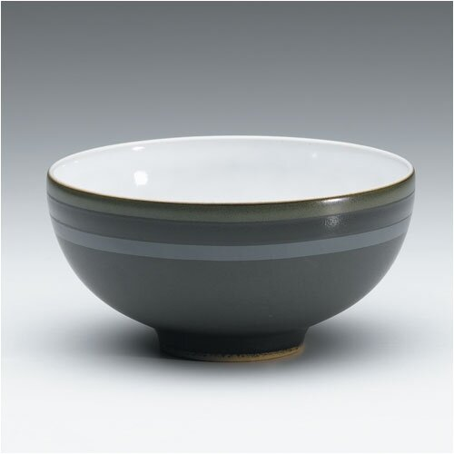 Denby Jet Stripes Rice Bowl
