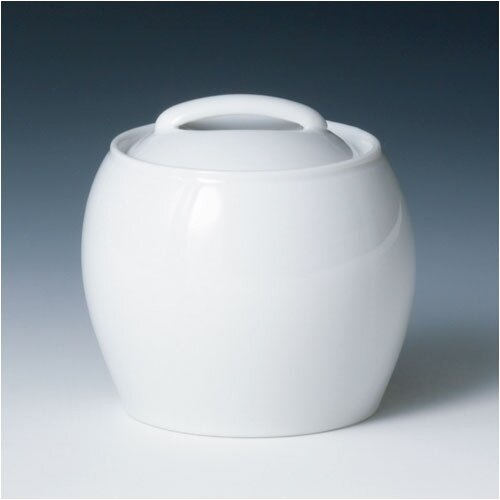 Denby White by Denby 10 Ounce Covered Sugar Bowl