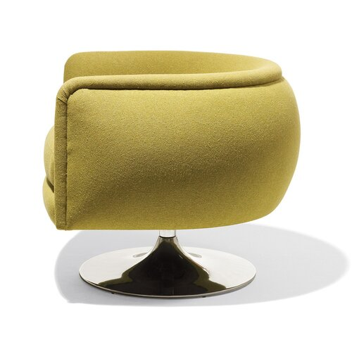 Knoll ® D'Urso Swivel Lounge Chair