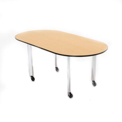 """Knoll ® D'Urso 72"""" Racetrack Work Table"""