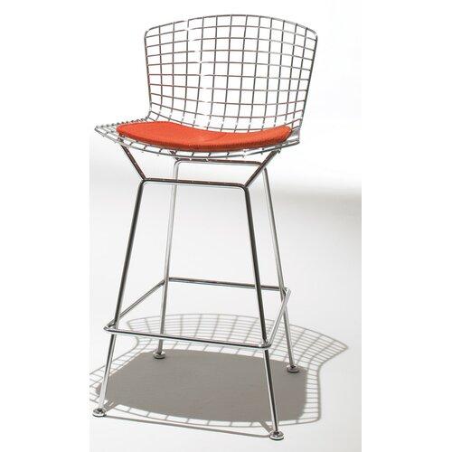 "Knoll ® Bertoia 29.25"" Bar Stool with Seat Pad"