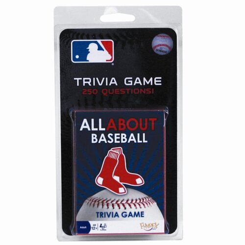 MLB All About Baseball Trivia Card Game