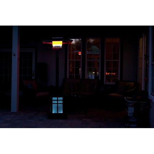 Fire Sense Square Illuminated Propane Patio Heater