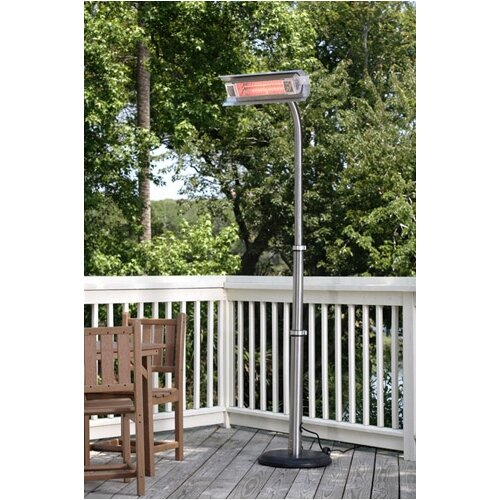 Fire Sense Electric Pole-Mounted Patio Heater