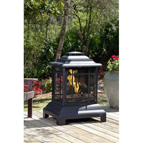 Fire Sense Patio Pagoda Fireplace