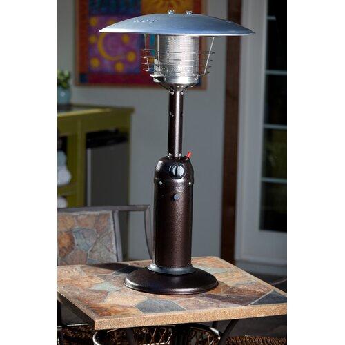 Fire Sense Table Top Propane Patio Heater