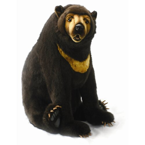 Sitting Sunbear Stuffed Animal
