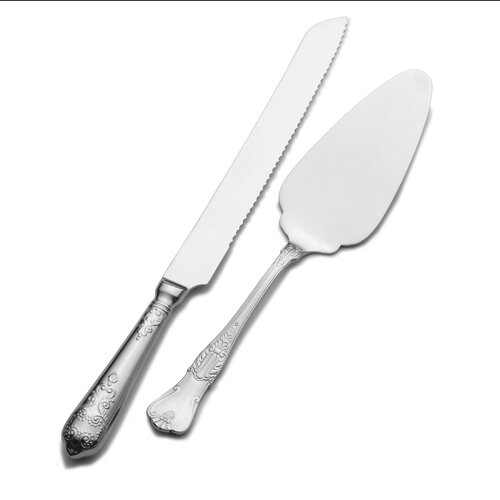 Wallace Hotel Pie & Cake Knife Set