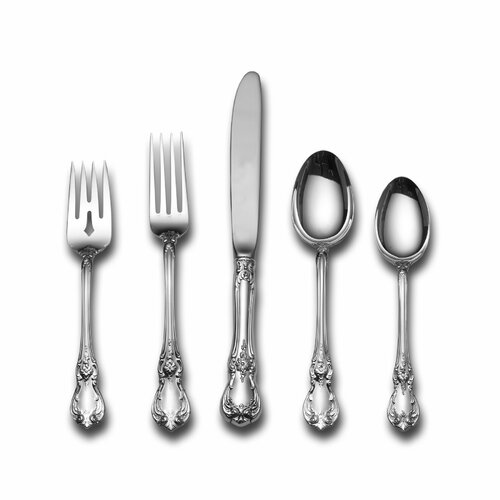 Towle Silversmiths Sterling Silver Old Master 66 Piece Dinner Flatware Set