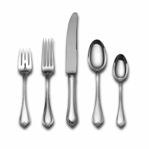 Towle Silversmiths Sterling Silver Old Newbury 5 Piece Dinner Flatware Set
