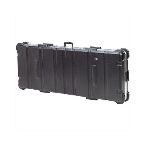 "SKB Cases Low Profile ATA Case:  7 9/16"" H x 54 3/8"" W x 14 13/16"" D  (outside)"