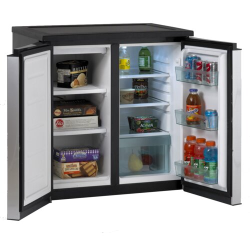 5.5 Cu Ft. Compact Refrigerator with Freezer