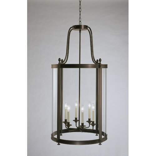 Robert Abbey Blake 6 Light Foyer Pendant
