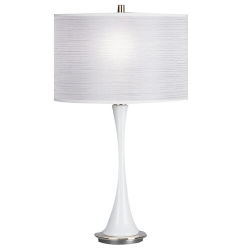 "Robert Abbey Kate Small 25"" H Table Lamp with Drum Shade"