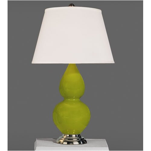 "Robert Abbey Double Gourd 22.75"" H Accent Table Lamp"