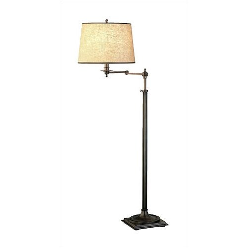 Robert Abbey Winston Swing Arm Floor Lamp