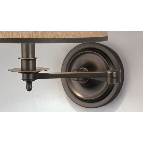 Robert Abbey Winston Swing Arm Wall Sconce