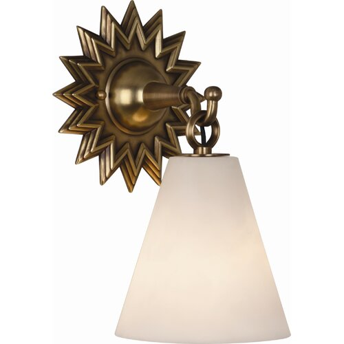 Robert Abbey Rico Espinet Churchill 1 Light Wall Sconce