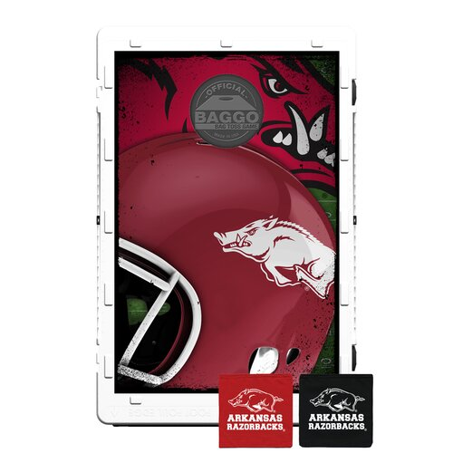 NCAA Arkansas Razorbacks Fanatics Edition Bean Bag Toss Game