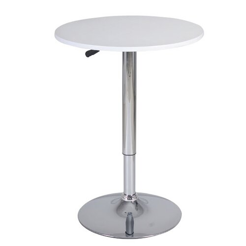 Contemporary Adjustable Height Pub Table