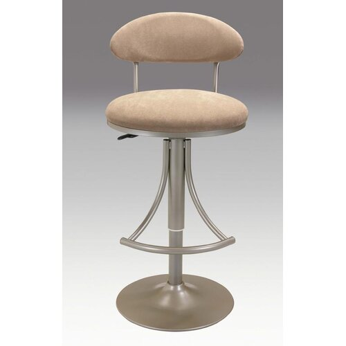 "Creative Images International 25"" Adjustable Swivel Bar Stool with Cushion"