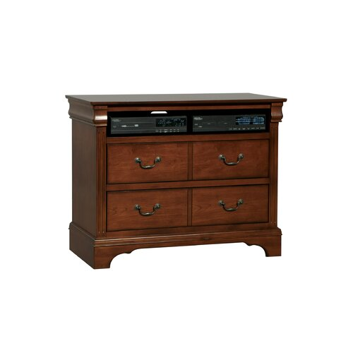 Renaissance 4 Drawer Media Dresser