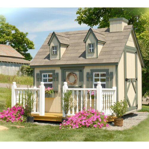 Cape Cod Playhouse Kit with Floor