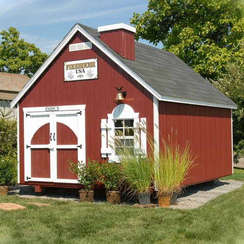 Firehouse Kit Playhouse