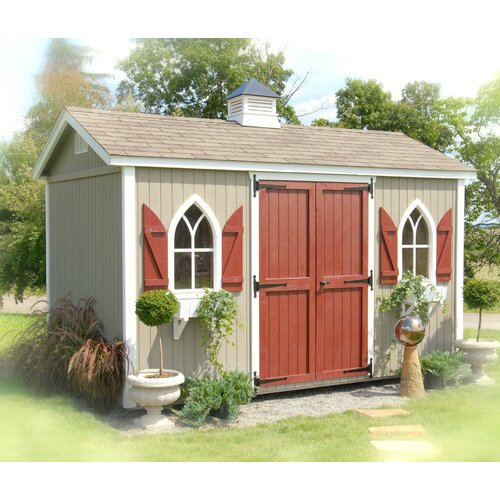 Little Cottage Company Classic 14 Ft. W x 10 Ft. D Wood Garden Shed