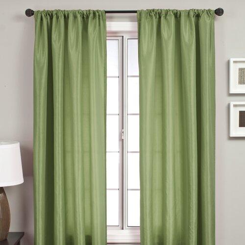 Softline Home Fashions Bella Kids Rod Pocket Curtain Single Panel