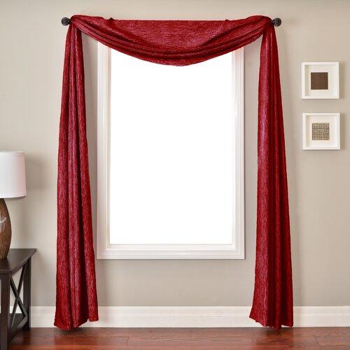 Softline Home Fashions Sacra 6 Yard Single Window Scarf