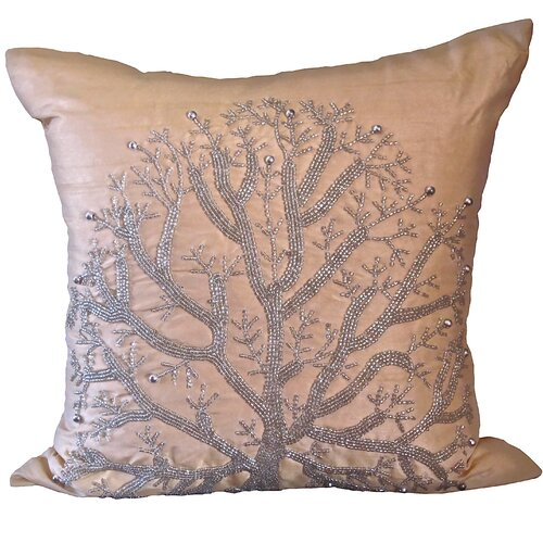 Bling Silk Wild Tree Pillow