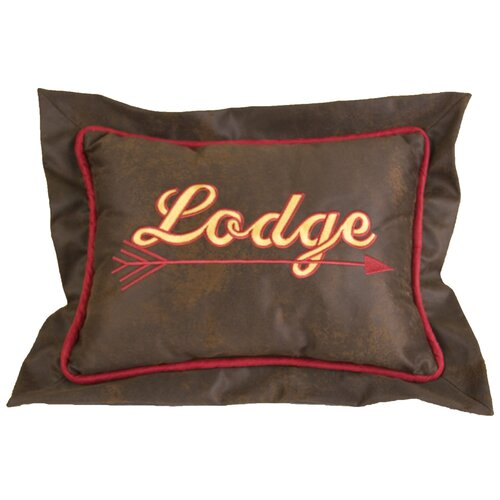 HiEnd Accents Tahoe Lodge Polyester Pillow
