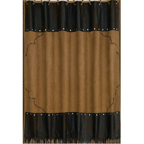 Barbwire Polyester Shower Curtain
