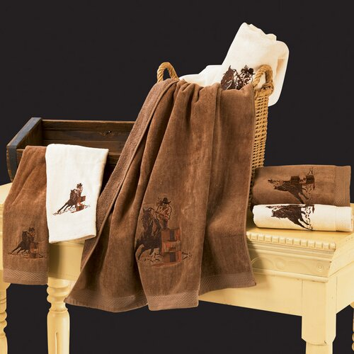 Barrel Racer 3 Piece Towel Set