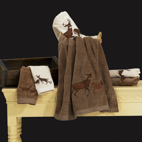 Deer 3 Piece Towel Set
