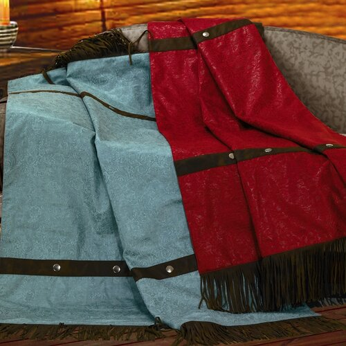 HiEnd Accents Cheyenne Fringed Polyester Throw