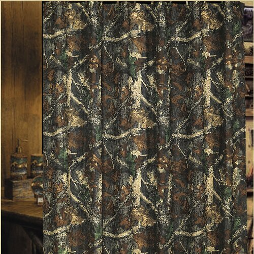 Oak Camo Shower Curtain Wayfair