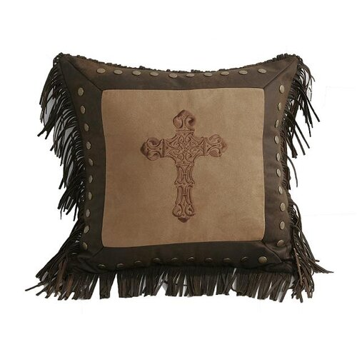 Crosses Square Accent Pillow