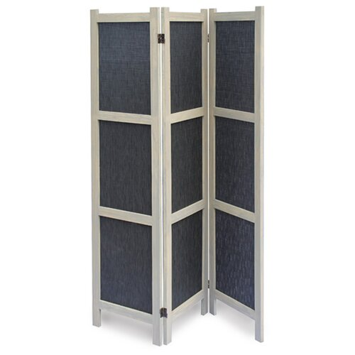 "Screen Gems 67"" x 52"" Tobin 3 Panel Room Divider"