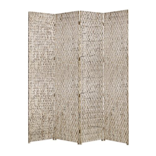 "Screen Gems 87"" x 84"" Sterling Screen 4 Panel Room Divider"